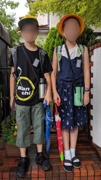 地元の小学校に体験入学を受け入れて頂いて始まる我が家の夏