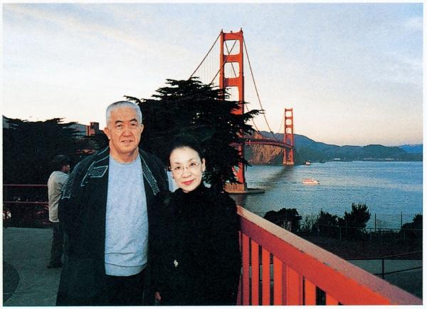 永六輔さんと妻・昌子さん