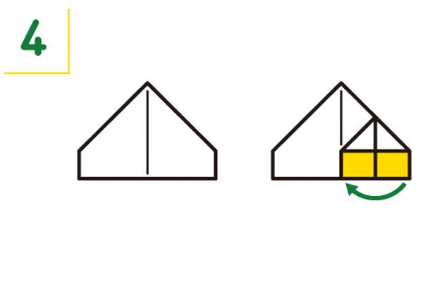 紙皿の折り方4