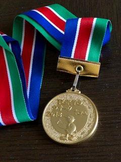 TOKYOウオーク記念金メダル