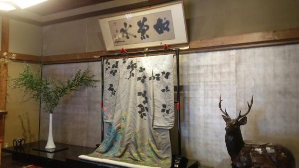 120余年の歴史を持つ老舗料亭菊水楼。建物は登録有形文化財でもある。