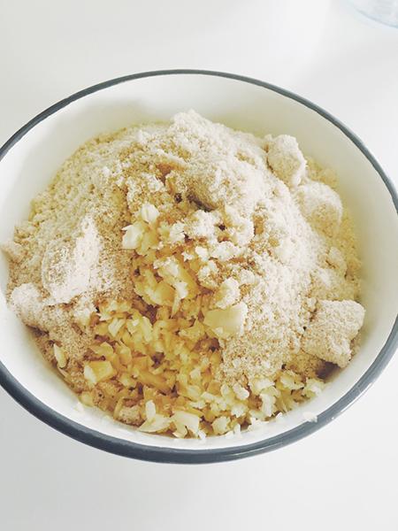 生姜シロップの材料