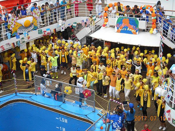 ピースボート運動会