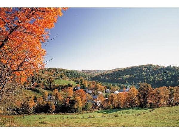 ツアーで向かう頃、バーモントは秋!今回とはまた違った風景が楽しめるはずです