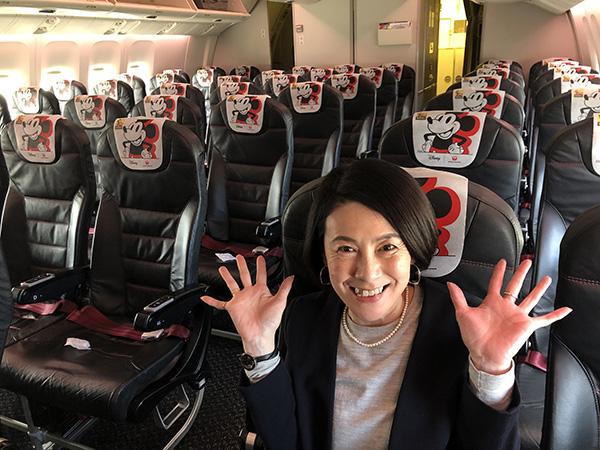 岸田ひろ実さんの旅の様子