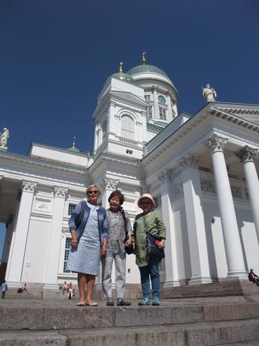 ヘルシンキ大聖堂。