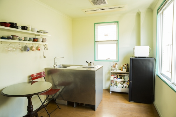 こちらが、実際の村上さんの台所。とてもすっきりしています。