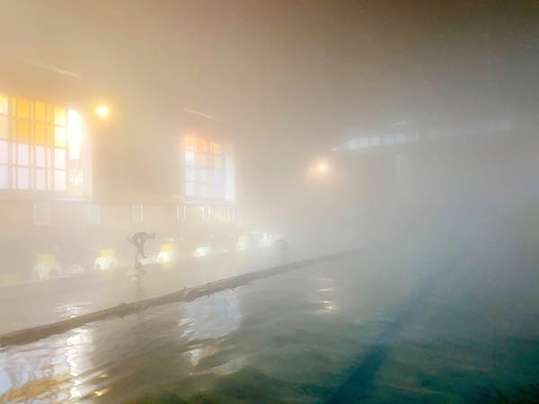 金谷旅館の千人風呂