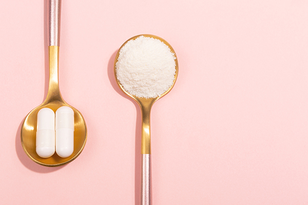 コラーゲンサプリは錠剤か粉か