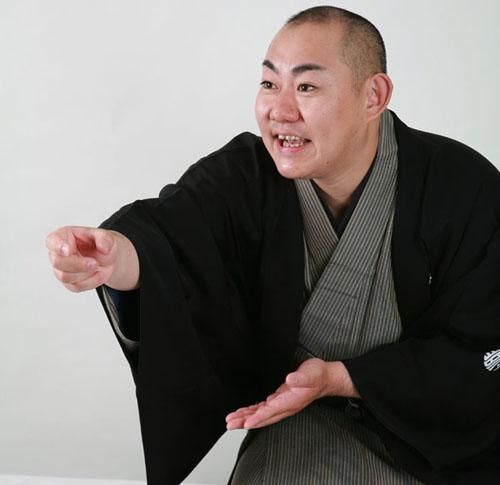落語家、三笑亭夢丸さん