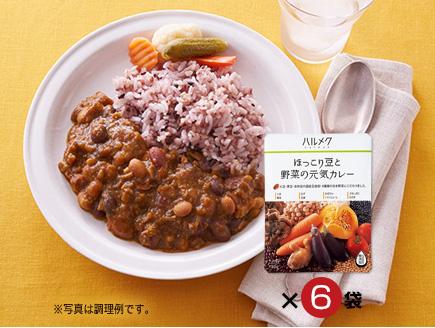 おすすめその1 ハルメク ほっこり豆と野菜の元気カレー