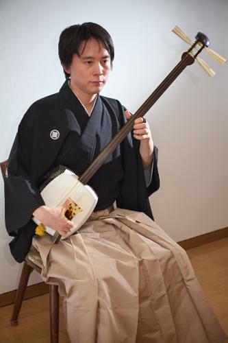 小山 貢山(おやまこうざん)さん 津軽三味線奏者