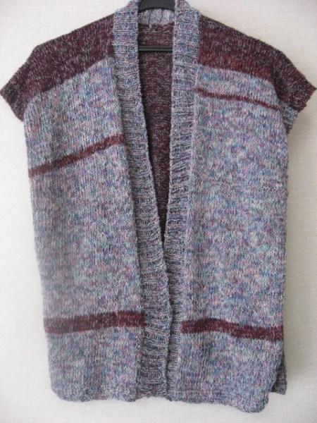 編んで作る超簡単ベスト