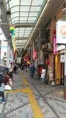 西小山の商店街