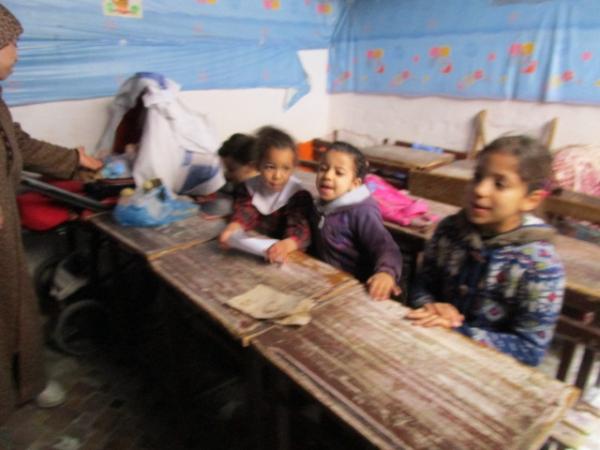 街の中の小さな幼稚園