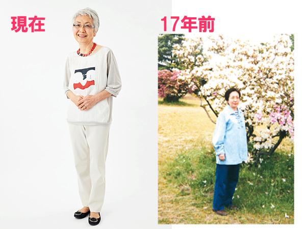 真野わかさんの母、井上信江さん(75歳)