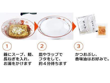 神楽坂ラーメン作り方
