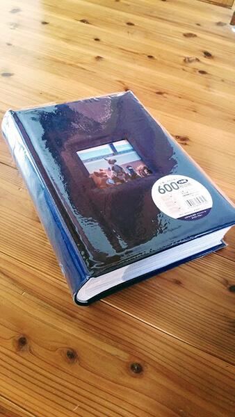 夫のiPadと私のスマホとを合わせて何千枚にもなった写真を厳選して出来上がったアルバム