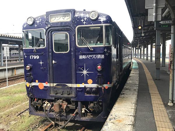 ながまれ号は道南いさりび鉄道の普通車としても運用している