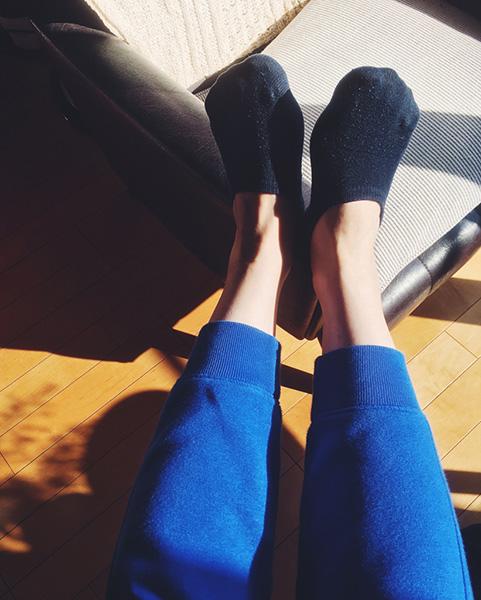 無印のお気に入りの靴下