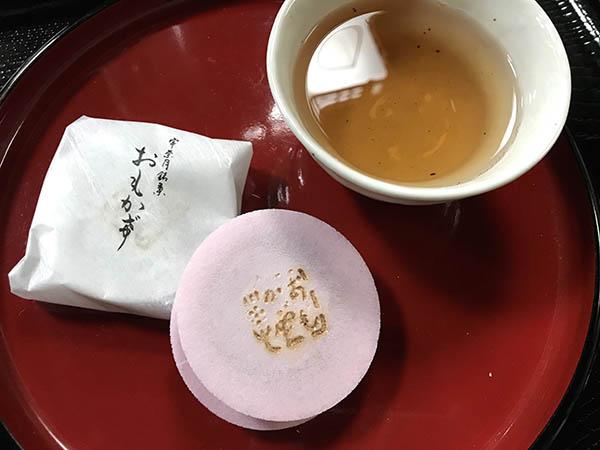 内閣総理大臣賞を受賞した福多屋菓子舗の「おもかげ」