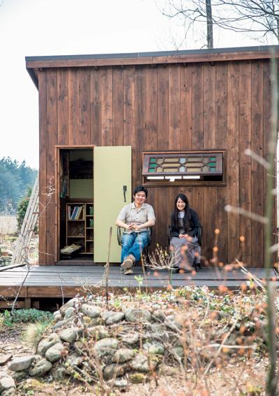 栃木県・那須高原にある小林さん夫妻が作る庭