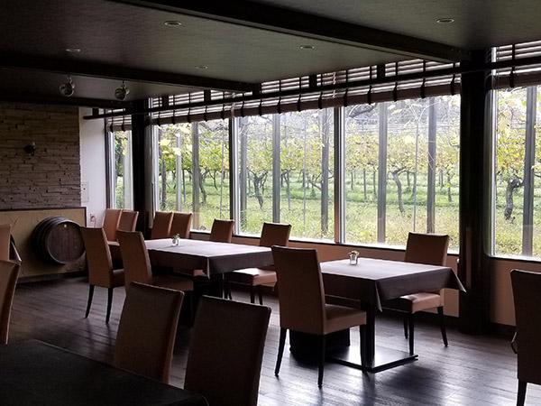 丹波ワインのレストラン