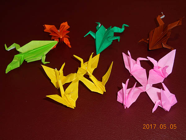 ピースボート折り紙