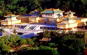 故宮博物院北院(台北)と故宮博物院南院(嘉義)をゆっくり見学。