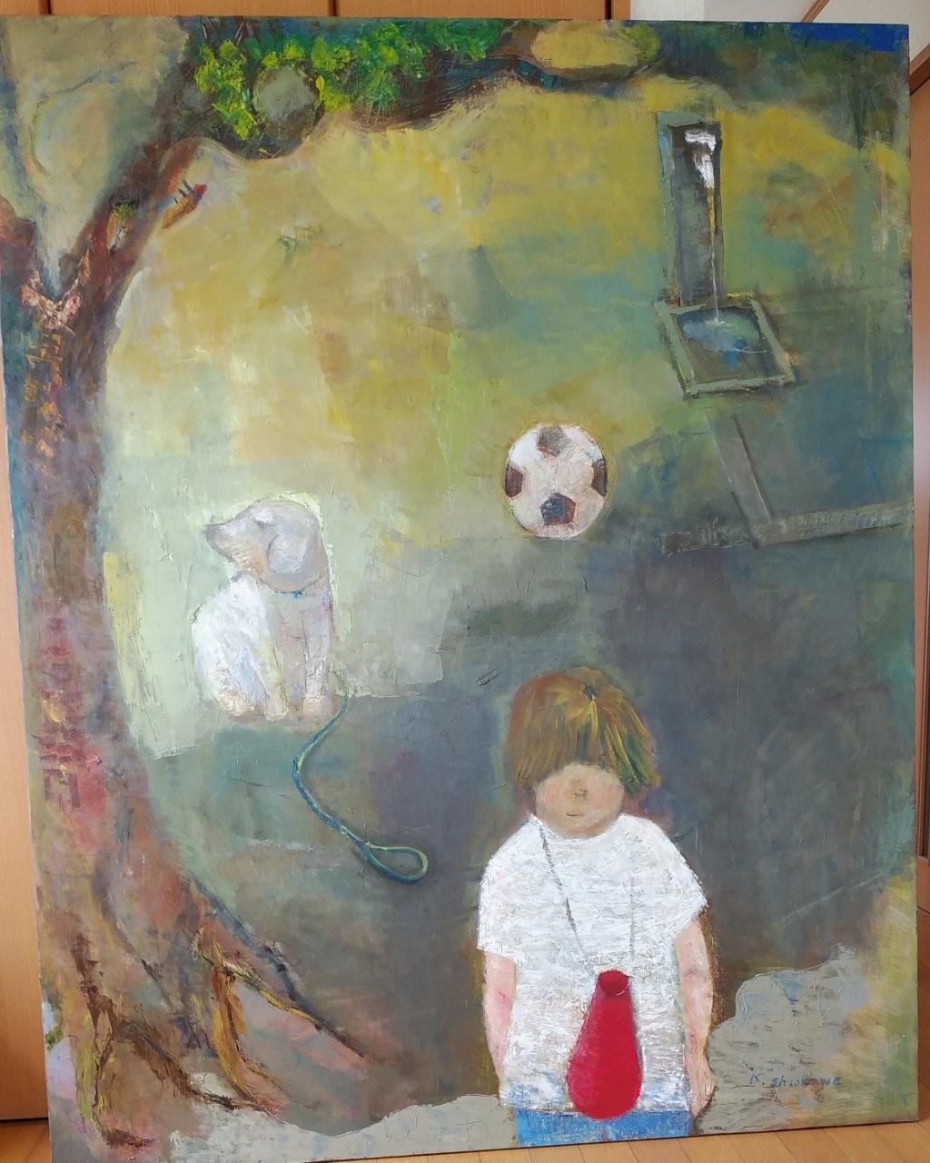 少女の絵1