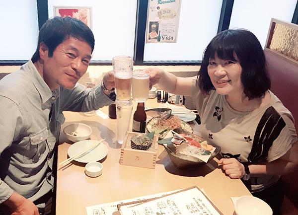 テレビにもよく出演している大井川鐵道・名物広報の山本豊福さんと