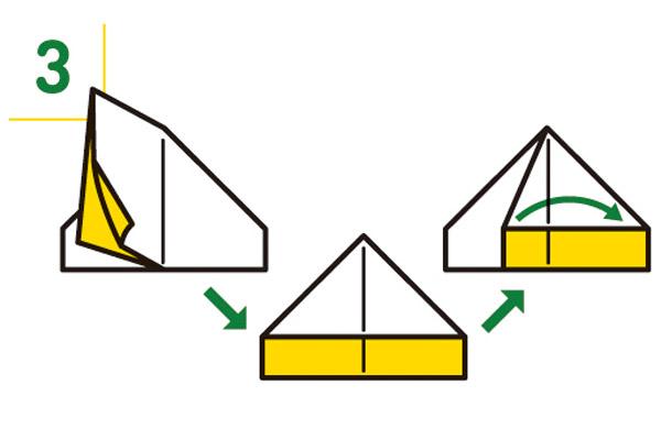紙皿の折り方3