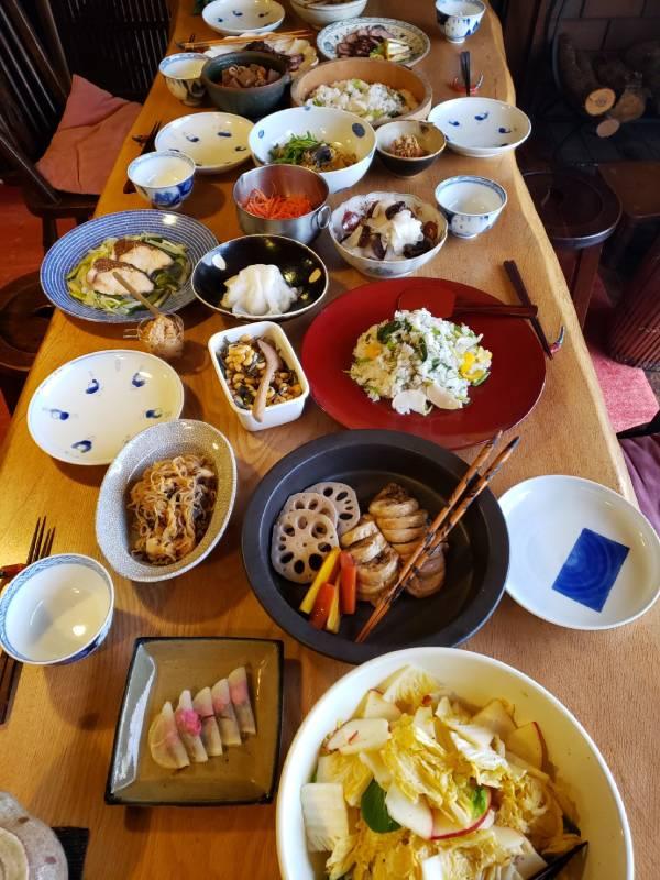 横山タカ子さんの料理