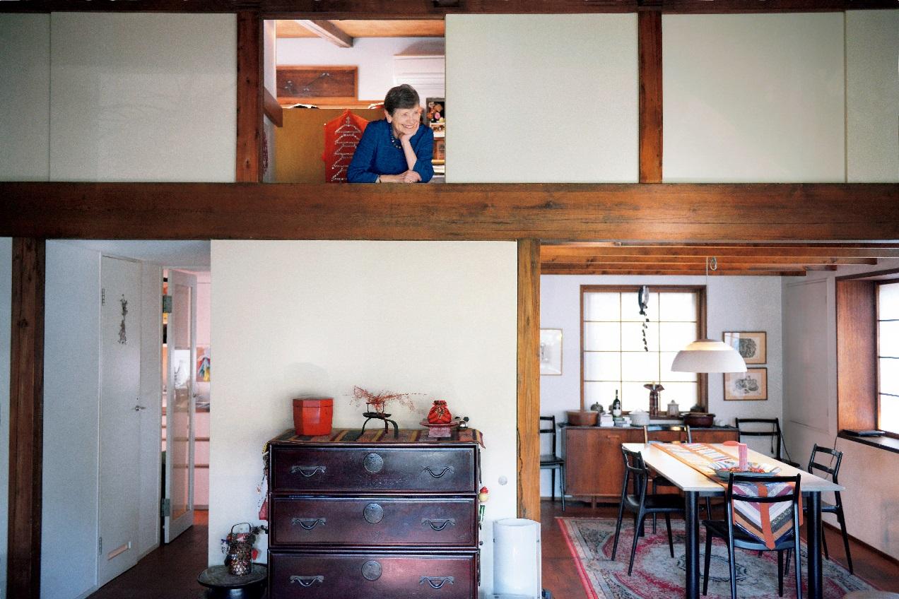 林アメリ―さんの自宅