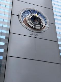 新宿アイランドタワー時計台