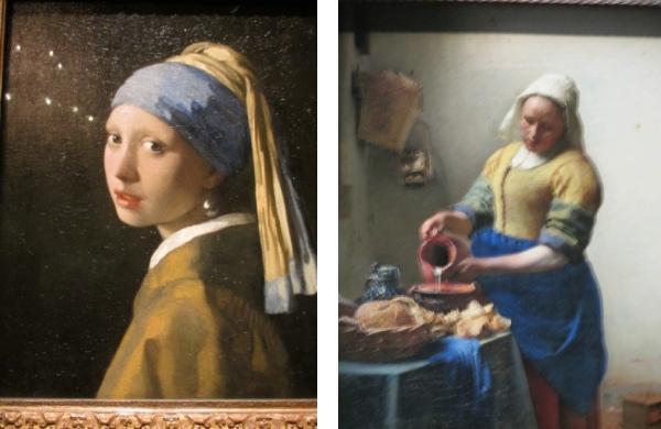 「真珠の耳飾り」「ミルクを注ぐ女性」