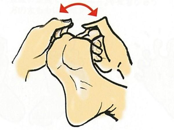 【きくち体操・基本のやり方1】足の裏と指に触る2