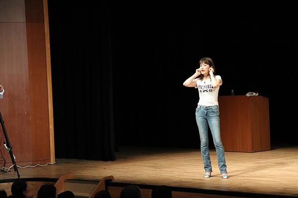木村友泉さん「くるくる耳たぶ」講座