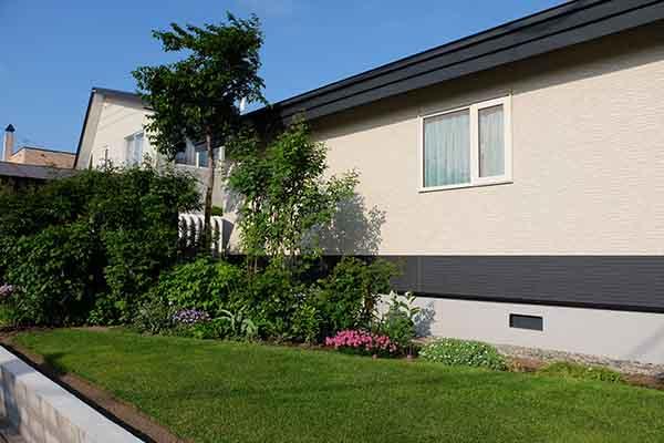 池田さん宅の芝写真提供:恵庭市