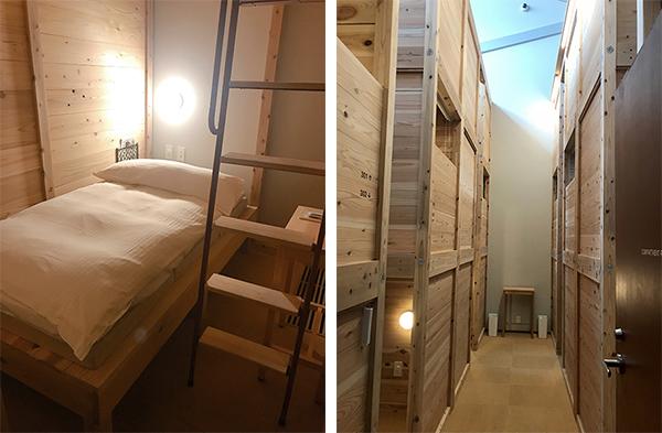 バンクベッドルーム1階部分)(13-2写真・コンパートメントは3階まである