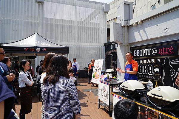 中目黒PITで行われた肉イベント