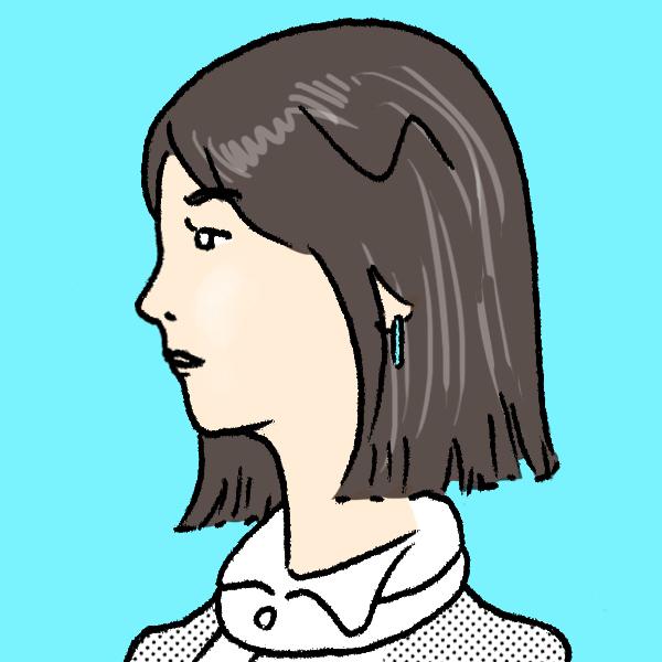 石田ゆり子さんイラストレーション=田渕正敏