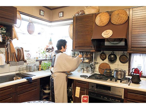 横山タカ子さんの自宅