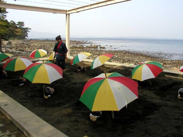 別府海浜砂場:ミシュランの旅行ガイドブックで二つ星を獲得