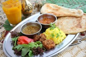 インドの人はどんなカレーを食べているの?
