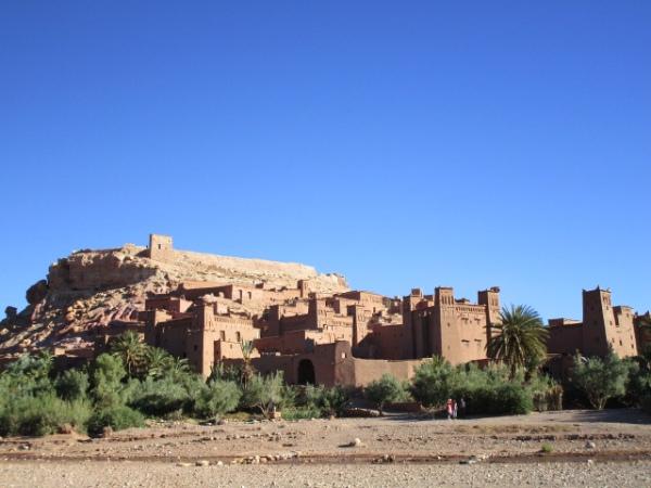集落の家々