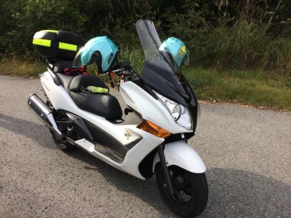 夫婦バイク旅
