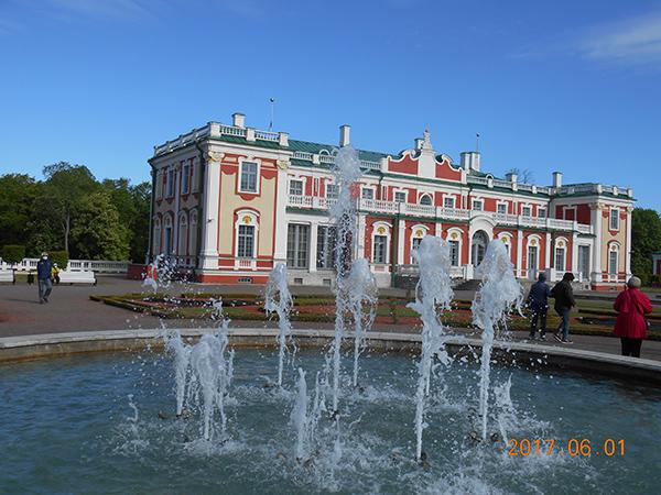 元ロシア皇帝ピュートル帝の別荘・現在はミュージアムとして利用
