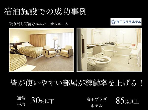 京王プラザホテルのユニバーサルルーム