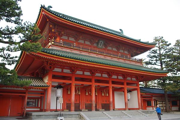 神門の応天門も重要文化財に指定